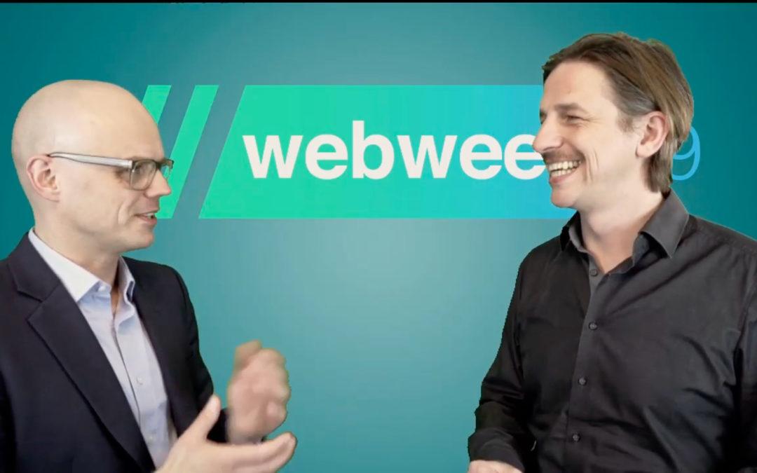 ://webweek 19 LiveTV – LEGO® SERIOUS PLAY® – Roman Keßler interviews Matthias Renner